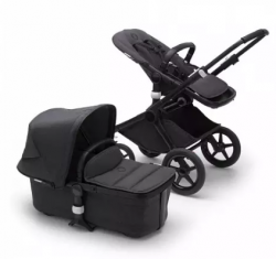 Bugaboo Fox2 коляска 2 в 1 Mineral Black/ Washed Black complete