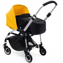 Коляска 2 в1 Bugaboo Bee⁵ black bassinet