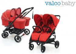 Коляска 2 в 1 для двойни Valco Baby Snap Duo
