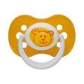 Пустышка круглая силик. 0-6 «Зоопарк»,Canpol