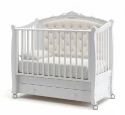 Кроватка с каретной стенкой «Жанетт» new