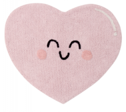 Стираемый ковер Happy Heart  | LORENA CANALS