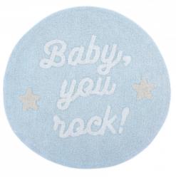 Стираемый ковер Baby, you rock! | LORENA CANALS