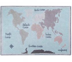 Стираемый ковер Vintage Map | LORENA CANALS