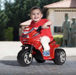Детский электромотоцикл Peg Perego Ducati Mini EVO